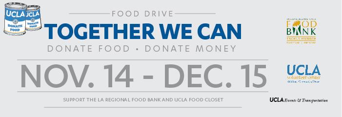 UCLA Food Drive 2014